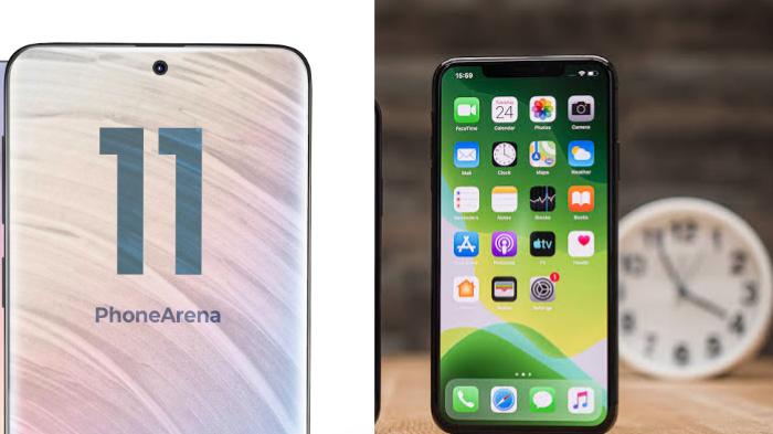 Bocoran desain Samsung Galaxy S11 dan desain iPhone 11