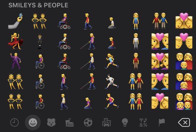 Emoji baru di iOS 13.2