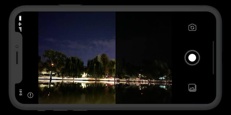 Smartphone iPhone keluaran lama bisa menggunakan night mode lewat aplikasi tertentu