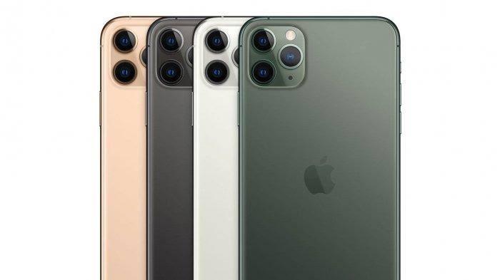 Bagian belakang iPhone 11 pro max