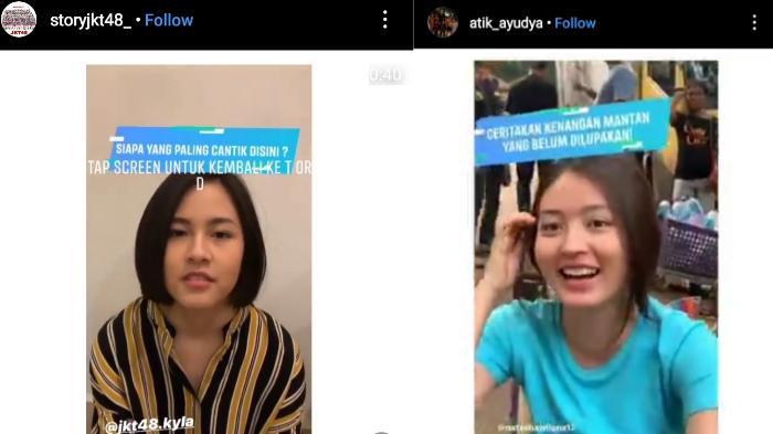 Beberapa selebritas tengah memainkan truth or dare di Instagram Story (istimewa)