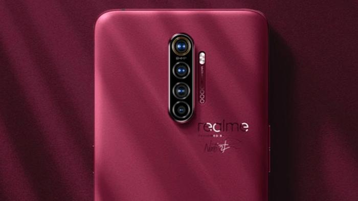 Gambar bagian belakang Realme X2 Pro (Sumber: GSM Arena)
