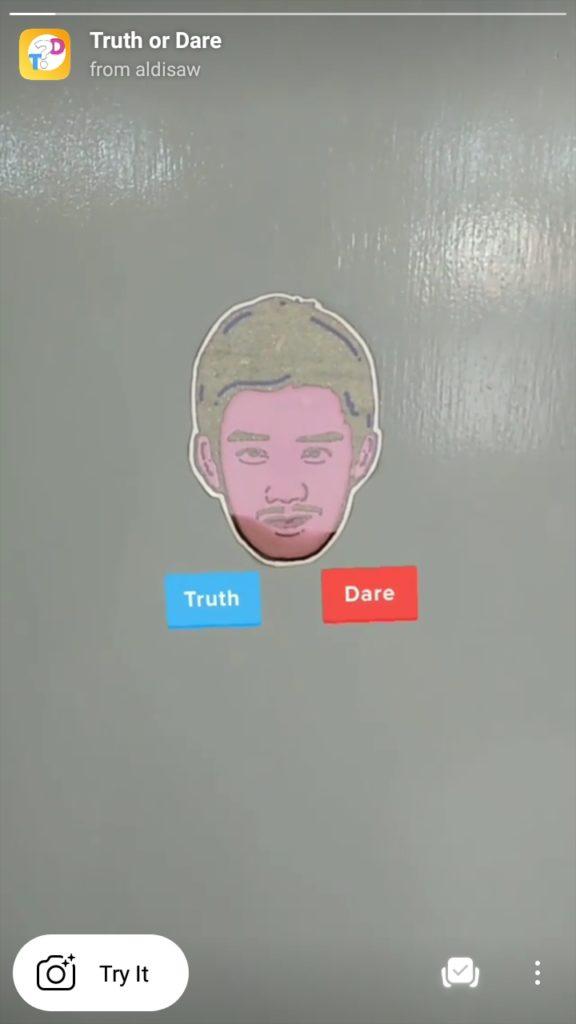 Pasang filter truth or dare