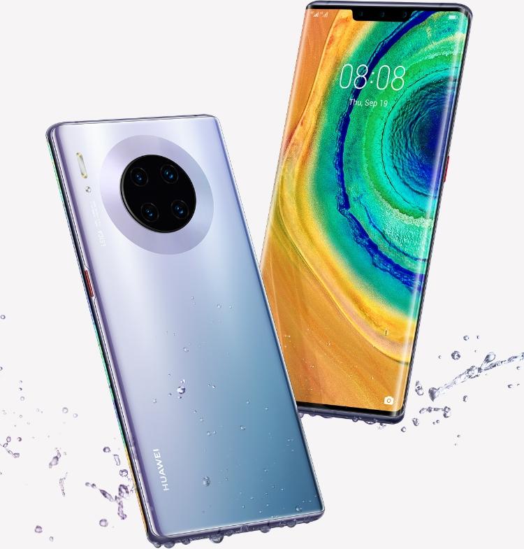 Desain kamera belakang Huawei Mate 30 Pro