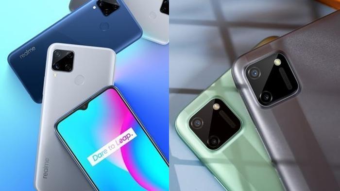 Realme C15 dan Realme C11 (Sumber gambar: Realme Indonesia)