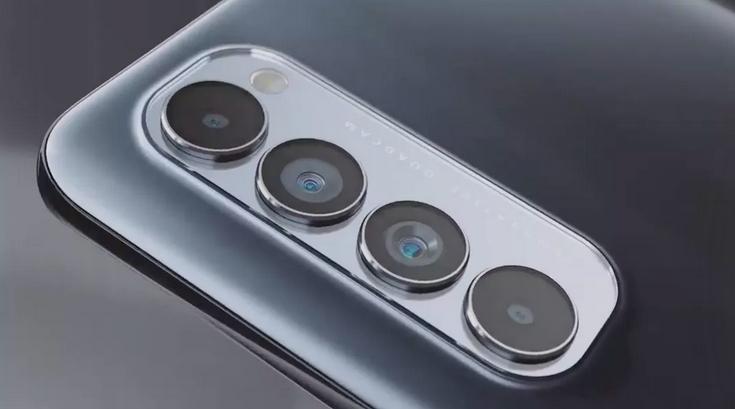 kamera belakang Oppo Reno 4 Pro
