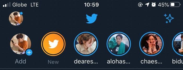 Fleets atau Twitter Story