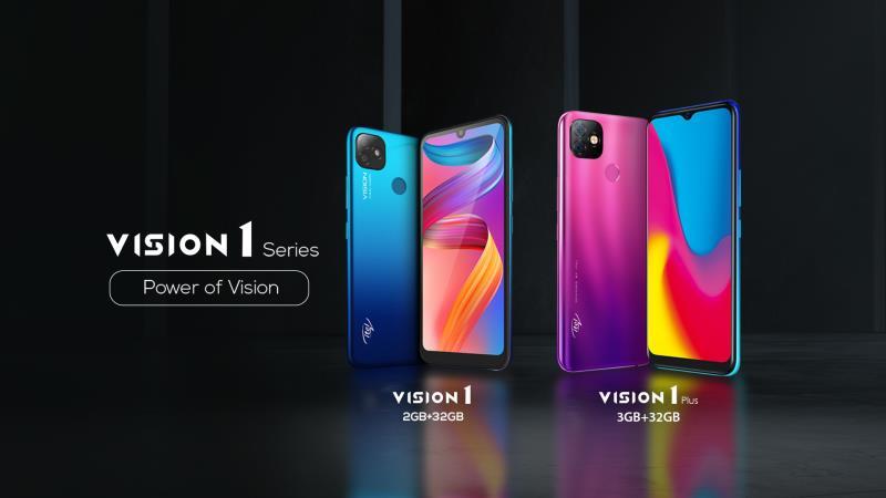 itel Vision1 Plus dan Vision1.