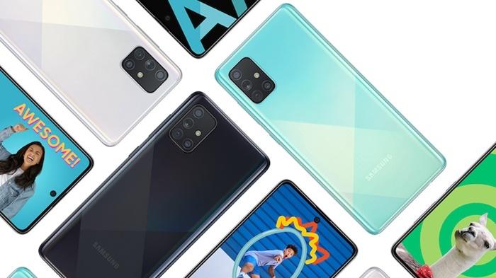 Oppo Reno5 dan Samsung Galaxy A71