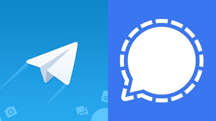Telegram dan Signal