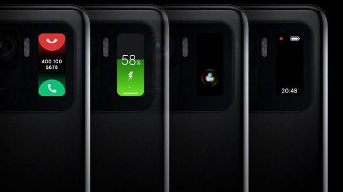 fungsi layar kedua Xiaomi Mi 11 Ultra