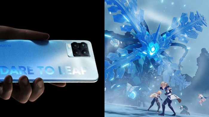 performa gaming Realme 8 Pro